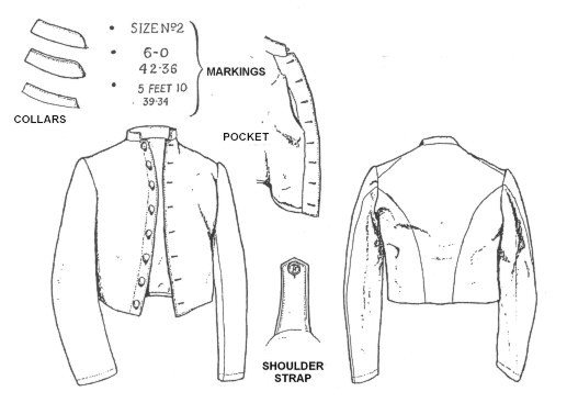 confederate issue jackets part 3 105 mm Shell the tait contract jacket