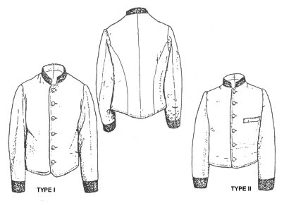 CONFEDERATE ISSUE JACKETS, PART 3