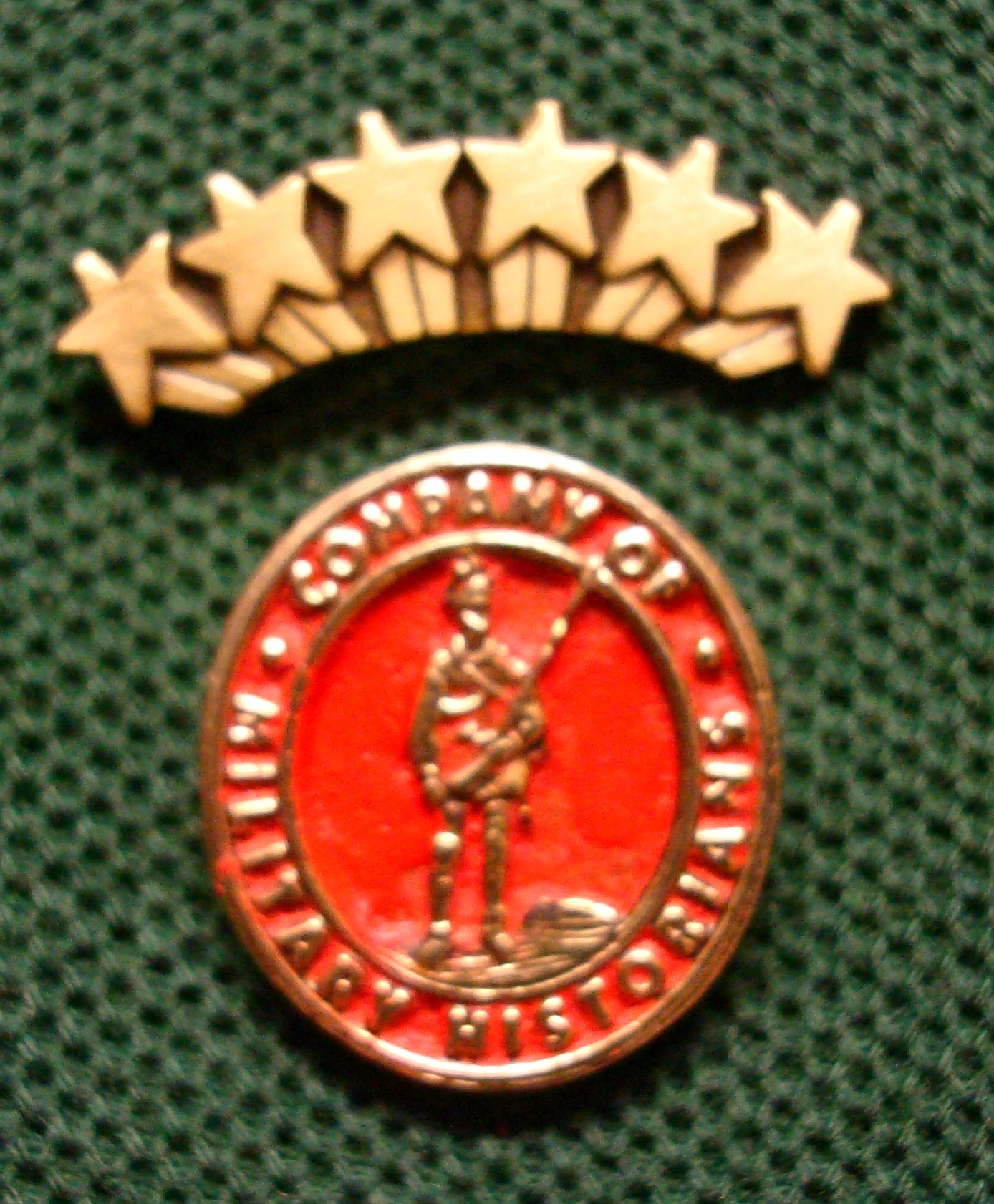 Founders Pin with Fellow Pin